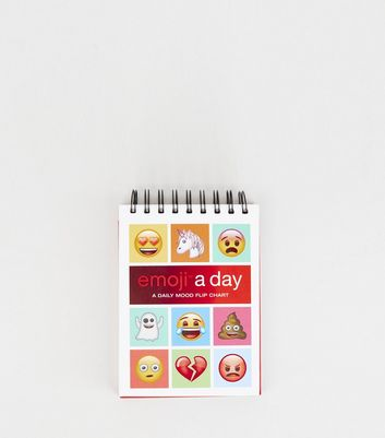 Multicoloured Emoji A Day Flip Chart