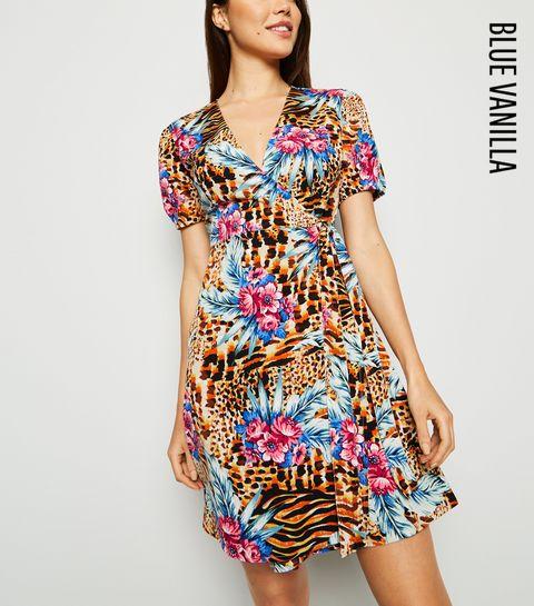 ea766d22ce057 Wrap Dresses | Long Sleeve, Velvet & Midi Wrap Dresses | New Look