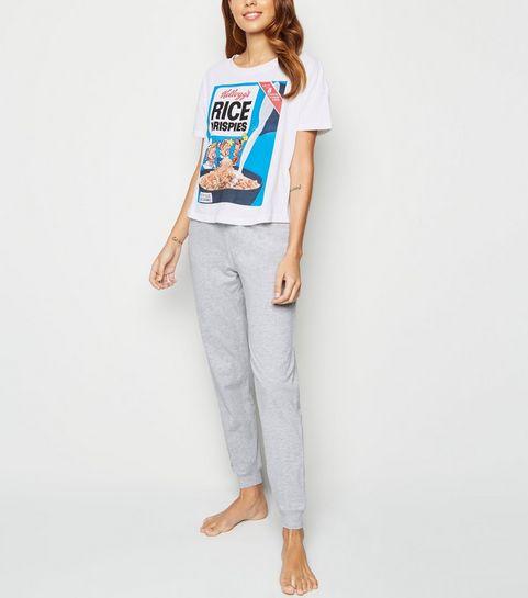 0f37d0209 White Kellogg's Rice Krispies Logo Pyjama ...