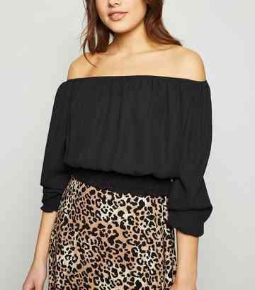 3685d5f11245b2 Bardot Tops | Off The Shoulder Tops | New Look