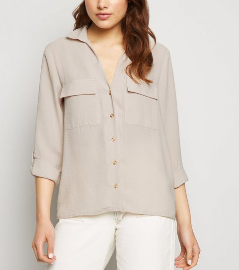 cb816b22 Women's Shirts & Blouses | Long Blouses & Shirts | New Look