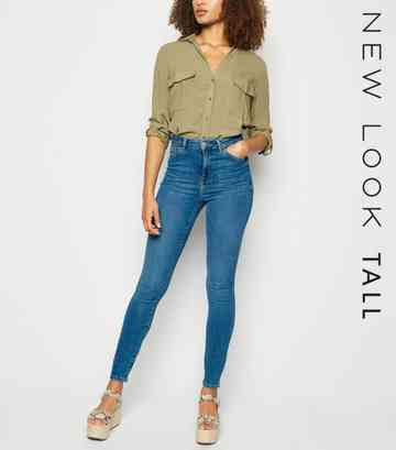 0626a2b39092fd High Waisted Jeans | Black High Waisted Jeans | New Look