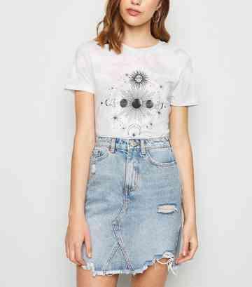 b56f32fc36954 Denim Skirts | Midi, White & Black Denim Skirts | New Look