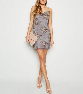 Slip Dress Brown