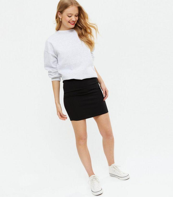 67647f9795c04 Black Mini Tube Skirt | New Look