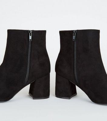 Mytrendshoe Gefütterte Damen Chelsea Boots Block Absatz Stiefeletten 812111, Farbe: Schwarz, Größe: 36