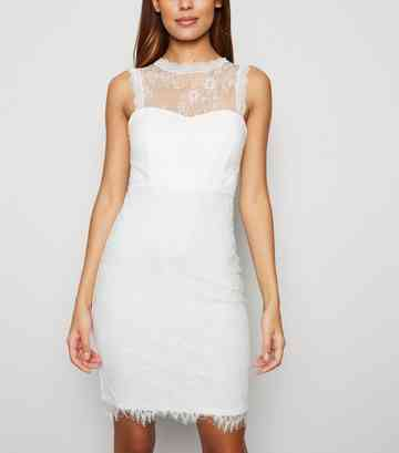 a34bac1bba Women's White Dresses | White Lace & Maxi Dresses | New Look