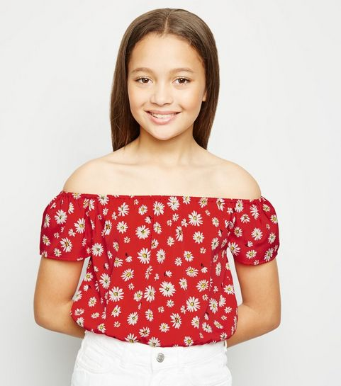 749717afce2579 Girls' Tops | Tops For Teenage Girls | New Look