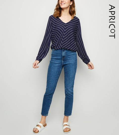 8a693ca15 Striped Tops | Women's Striped T-Shirts & Blouses | New Look