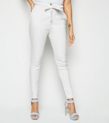 Parisian White High Waist Skinny Jeans New Look