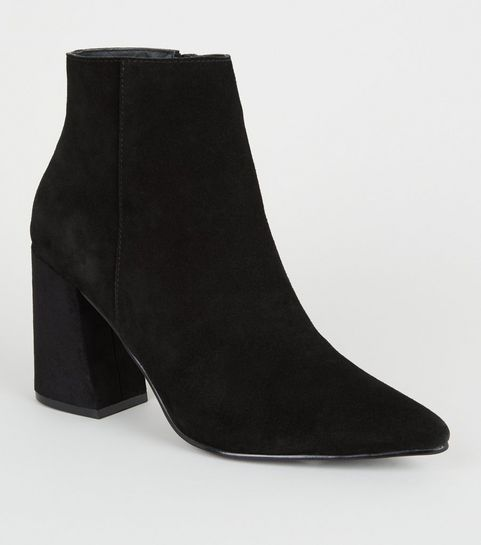 072708633 Ankle Boots | Womens Heeled Ankle Boots | New Look