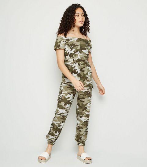 a6691e3e0 Girls' Camo Clothing | Girls' Camo Pants, Jackets & Tops | New Look