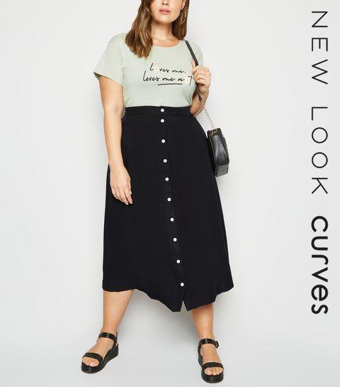 b16c73f0d Plus Size Skirts | Plus Size Midi & Mini Skirts | New Look
