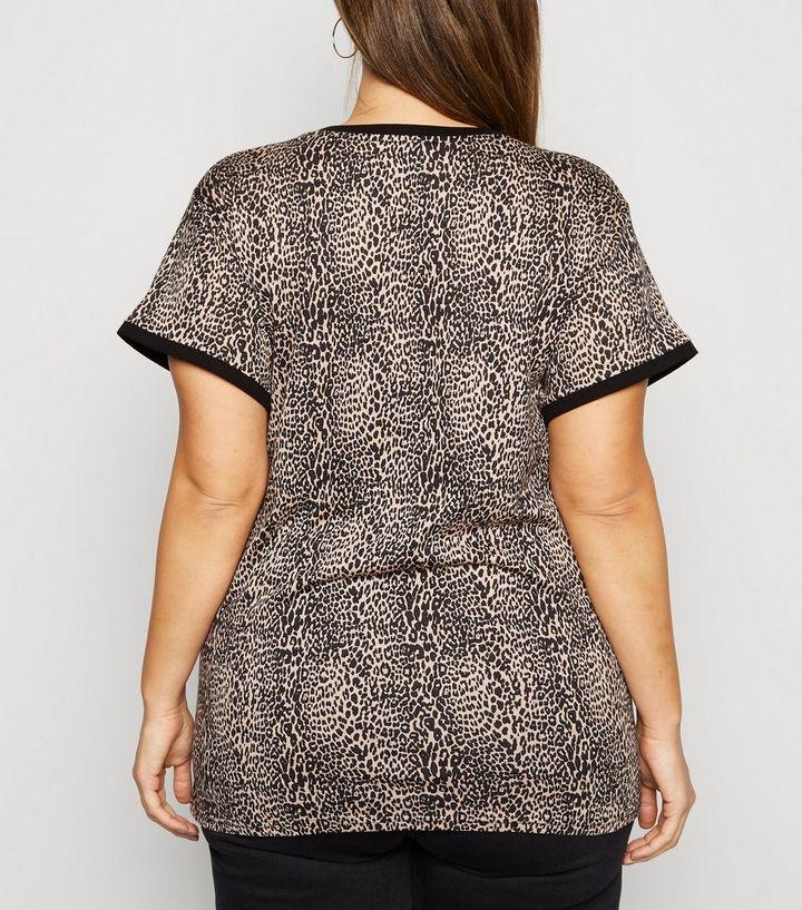 35afa5cfd4c7 ... Brown Leopard Print Ringer T-Shirt. ×. ×. ×. Shop the look