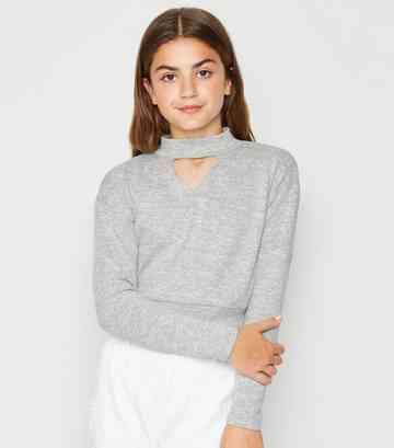 6d17efda79e1 Girls' Jumpers | Oversized, Cable Knit & Cropped Jumpers | New Look