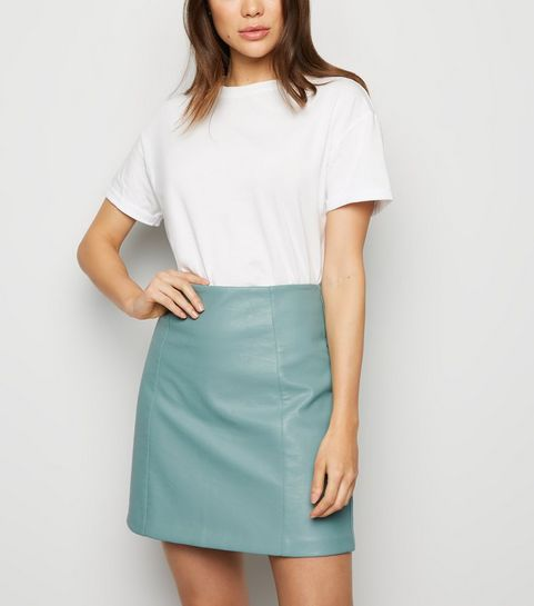 5fa89654f Women's Faux Leather Skirts | Leather Look Skirts | New Look