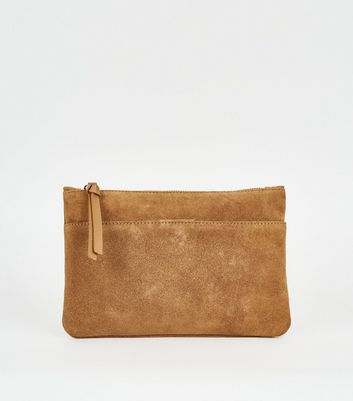 Tan Suede Cross Body Bag