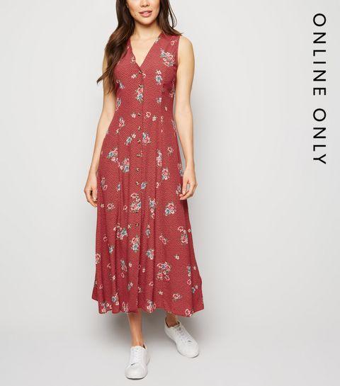 798d357fa1 Floral Dresses   Floral Print Maxi & Midi Dresses   New Look