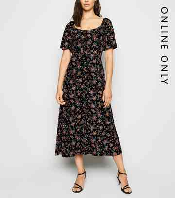 7abacc640b Floral Dresses | Floral Print Maxi & Midi Dresses | New Look