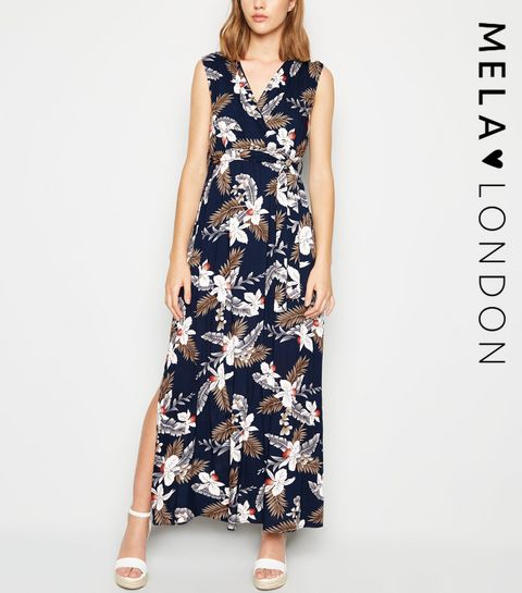 1d702ec039 Navy Dresses | Navy Blue Maxi & Midi Dresses | New Look