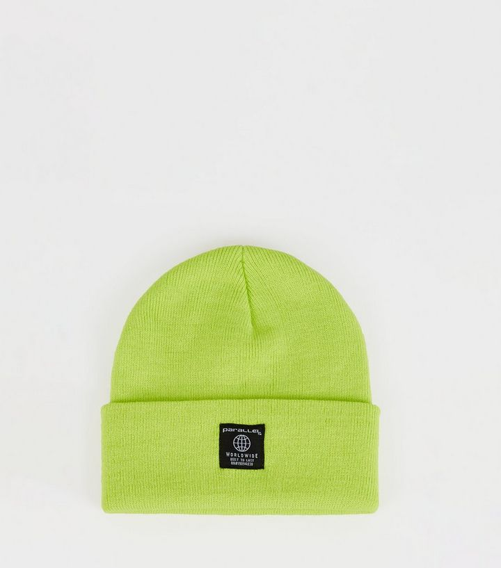 bd3e80635 Green Parallel Globe Logo Beanie Add to Saved Items Remove from Saved Items