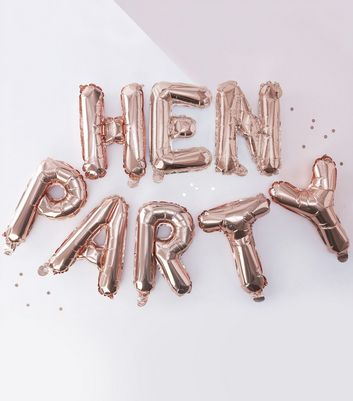 Ginger Ray Rose Gold Hen Party Balloons