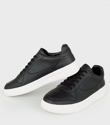 Mens Leather Trainers shoes