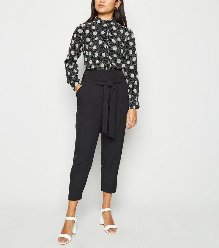 cb5bc1027d2614 ... Petite Black Daisy Long Sleeve Shirt. ×. ×. ×. Shop the look