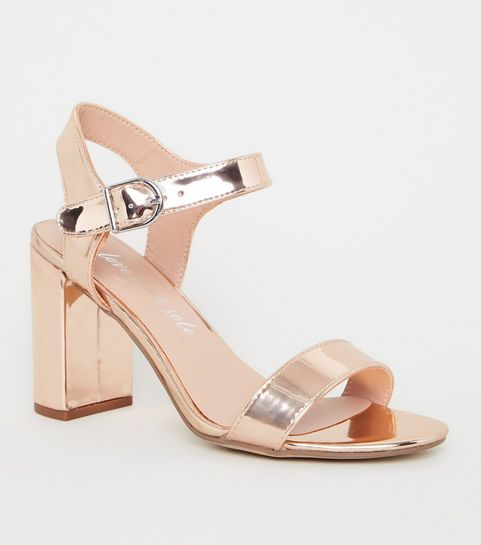 28738e54742 Women's Chunky Heels | Chunky Heel Sandals & Shoes | New Look