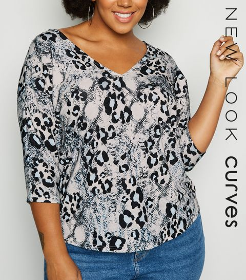 d8e4d759 Plus Size Tops | Plus Size Blouses & Shirts | New Look
