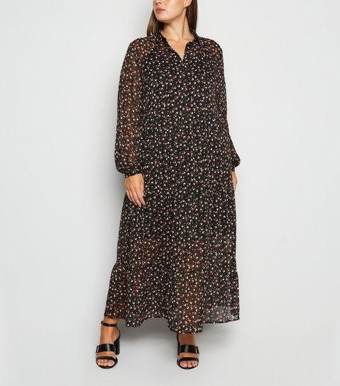 taille 40 604e3 42e18 Robes noires grande taille Femme   Robes soirée   New Look