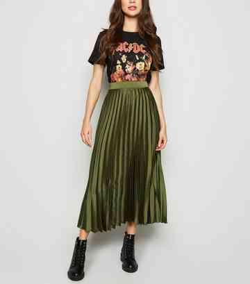90486fc55 Midi Skirts | Pleated Midi and A-Line Midi Skirts | New Look
