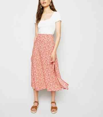 90ed39c4dd Midi Skirts | Pleated Midi and A-Line Midi Skirts | New Look