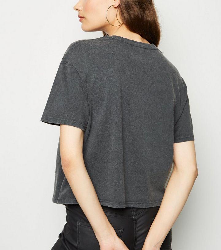 5e9710fe7 ... Dark Grey Guns N' Roses Boxy Crop T-Shirt. ×. ×. ×. Shop the look