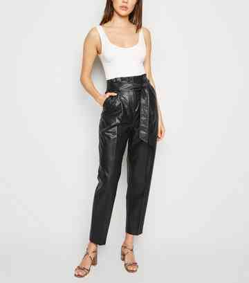88d53c38f46f Women's Paper Bag Trousers | Paperbag Waist Trousers | New Look