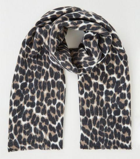 7f450f4d1 Women's Scarves   Lightweight & Leopard Print Scarves   New Look