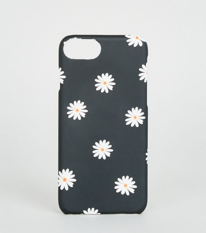 new product a378c 343a9 Black Daisy Case for iPhone 6/6s/7/8 Add to Saved Items Remove from Saved  Items
