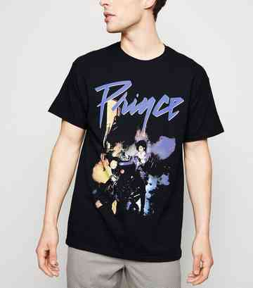Black Logo Prince Purple Rain T-Shirt