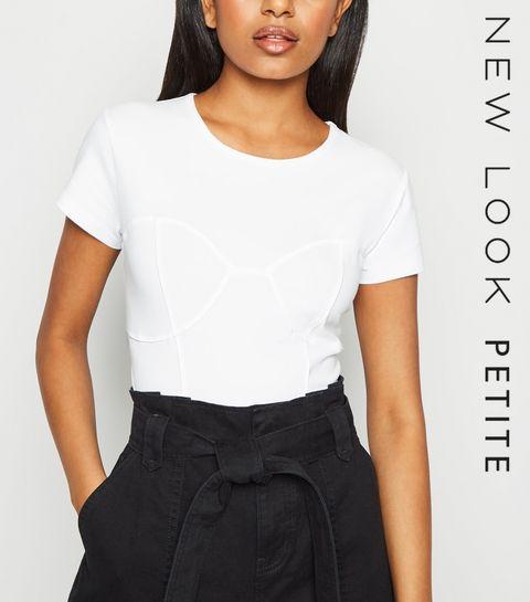 886129110ef61b Petite Tops | Petite Blouses, Shirts & T-Shirts | New Look