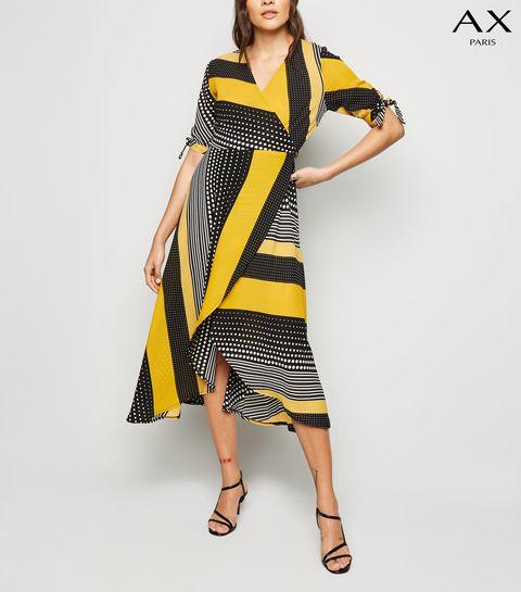 97b3491c7b00 Wrap Dresses | Long Sleeve, Velvet & Midi Wrap Dresses | New Look