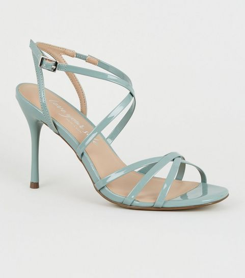 feeae56e7 Heeled Sandals | Barely There & Strappy Heeled Sandals | New Look