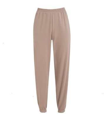 Light Brown Cuffed Joggers New Look