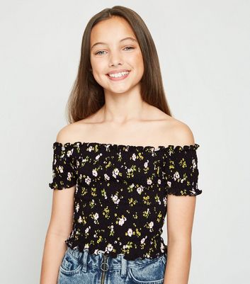 Girls  New Look Tops X 3 Age 12-13 Years