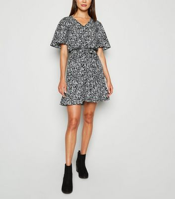 mini dress with ankle boots