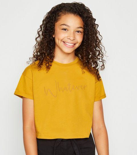 1949c275c365 Girls' Yellow Tops | Yellow T-Shirts & Cami Tops | New Look