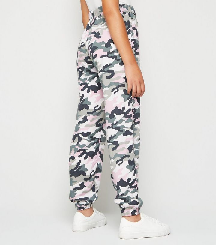 amazon official sale for whole family Girls Pink Woven Cuffed Joggers Add to Saved Items Remove from Saved Items