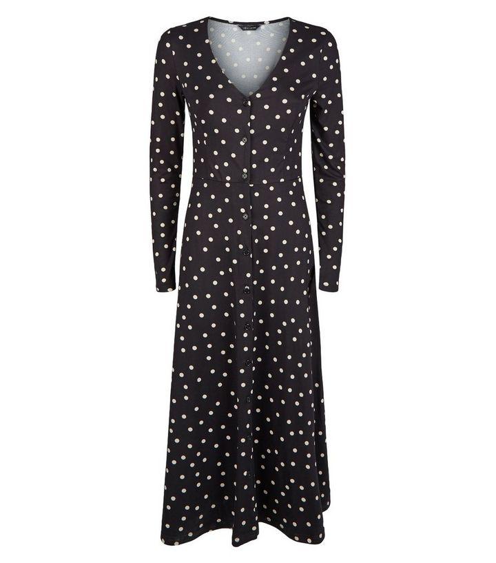 911f4b11b143 ... Black Spot Soft Touch Long Sleeve Midi Dress. ×. ×. ×. Shop the look