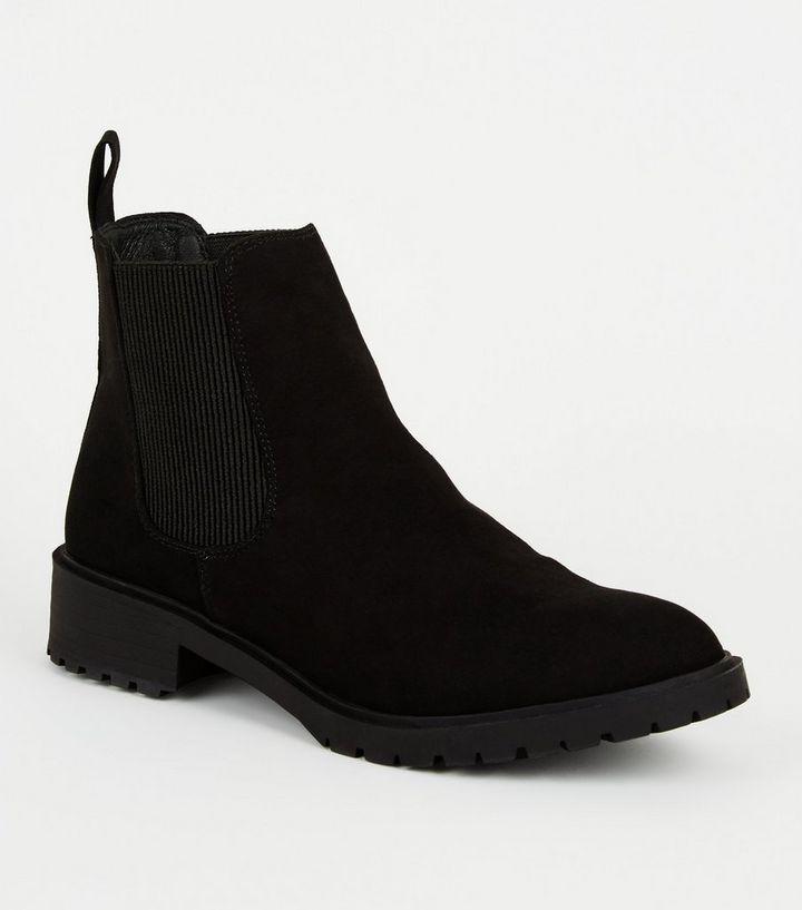 black chelsea boots girls