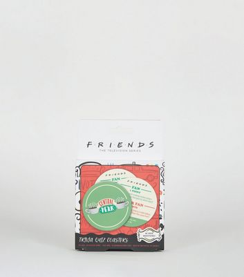 Multicoloured Friends Trivia Quiz Coasters