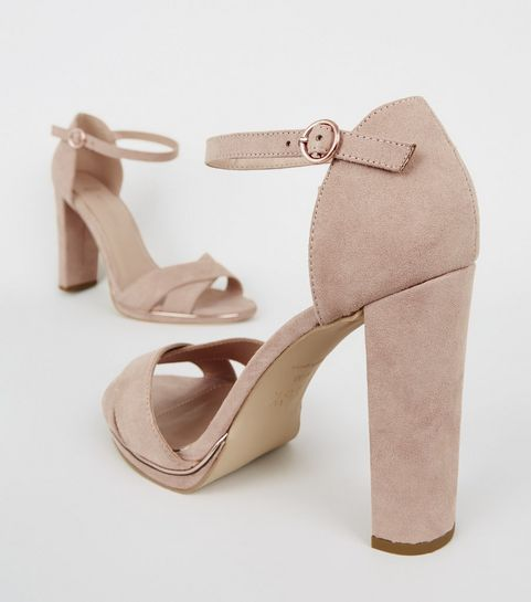 701f94ed3da Heeled Sandals | Barely There & Strappy Heeled Sandals | New Look
